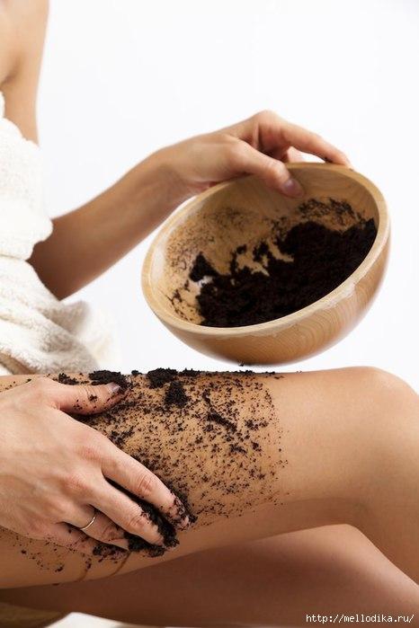 Скраб из кофе для тела от целлюлита