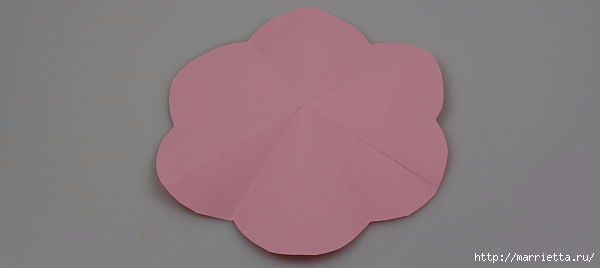 Творчество с детьми. Цветочки в технике оригами (4) (600x268, 21Kb)