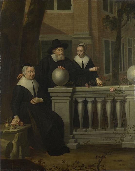 4000579_Jan_van_Bijlert__Portrait_of_an_Elderly_Man_and_Two_Women (555x700, 279Kb)