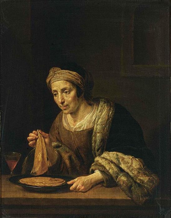 4000579_Jan_van_Bijlert__A_Woman_Holding_Pancakes__WGA2185 (549x700, 271Kb)