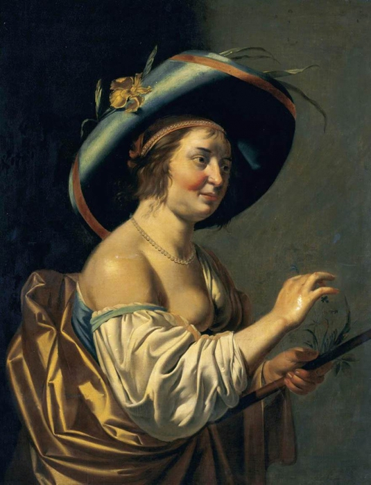 4000579_Jan_van_Bijlert__A_Shepherdess__WGA2188 (535x700, 238Kb)
