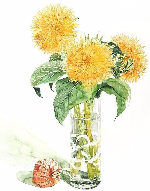Watercolors-by-Japanese-artist-Ayako-Tsuge-1 (500x637, 298Kb)