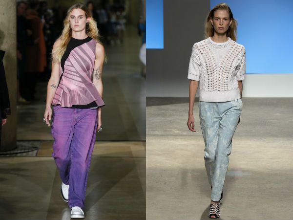 какие джинсы +в моде