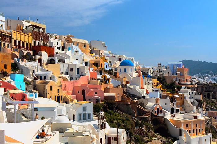 5. Санторини, Греция. (700x465, 450Kb)