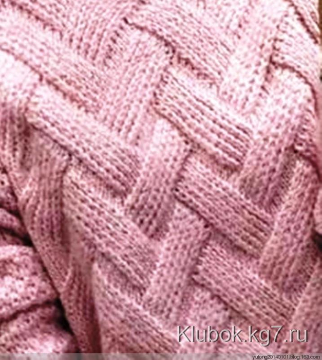 Джемпер ложная коса-1б (627x700, 397Kb)
