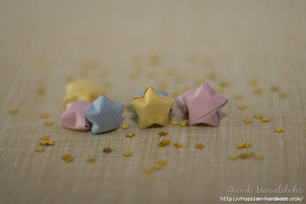 Бумажные украшения - звездочки в технике оригами (22) (620x413, 90Kb)