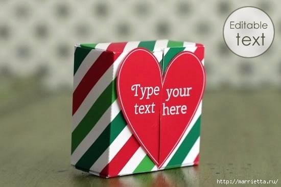 Шаблон сердечной коробочки для подарка (3) (550x366, 75Kb)