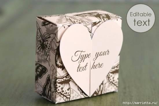 Шаблон сердечной коробочки для подарка (7) (550x366, 71Kb)