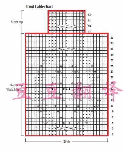 Весенняя кофточка спицами (3) - копия (410x497, 213Kb)