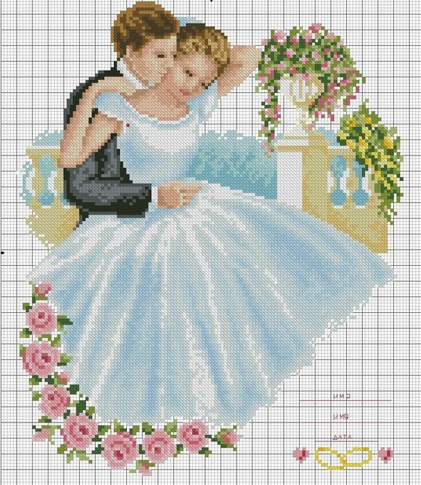 свадебная метрика картинка (607x700, 516Kb)