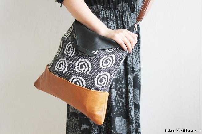 Оригинальная сумка своими руками