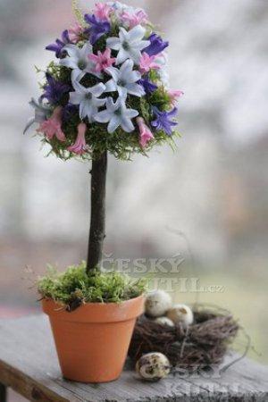 Гиацинтовое деревце для весеннего праздничного стола (5) (300x450, 98Kb)