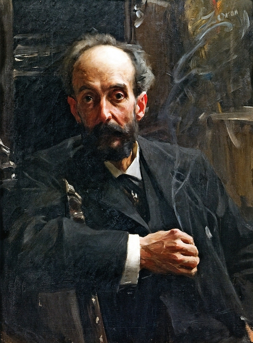 Месье Маури, 1891  ч.к. х.м. (517x700, 275Kb)
