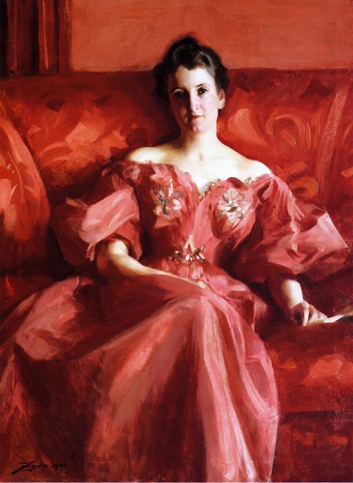 Портрет миссис Howe, 1900 (512x700, 50Kb)