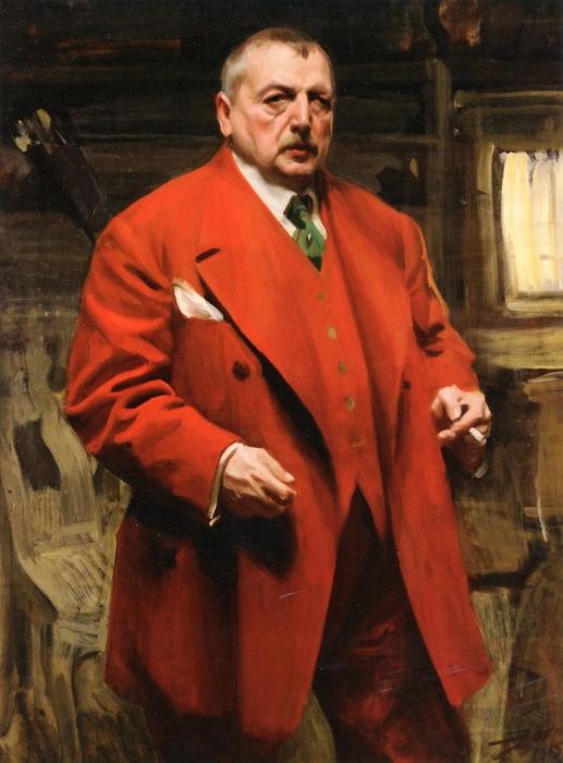 Автопортрет в красном    1915 (517x700, 248Kb)