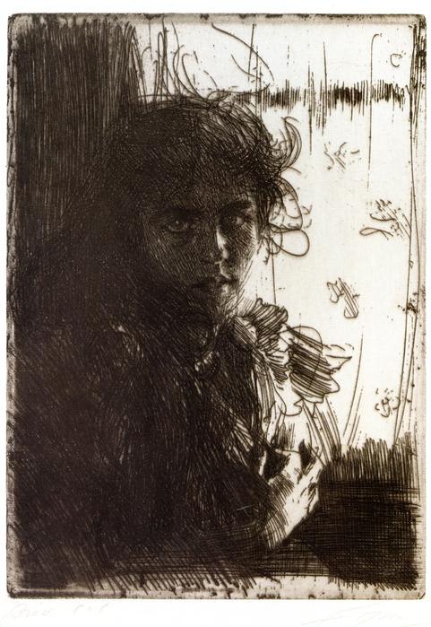 An Irish Girl (известная  как  Анни)  1894 (481x700, 268Kb)