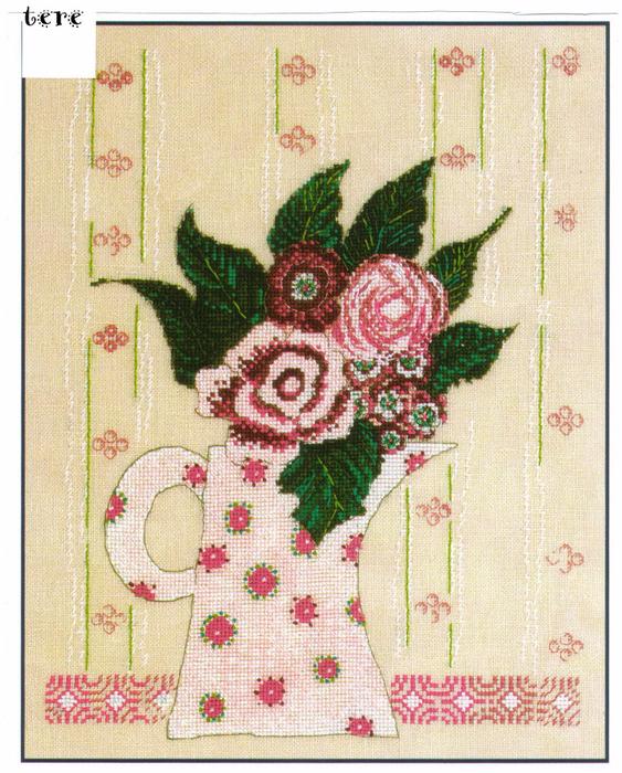 Bouque de Roses (563x700, 628Kb)
