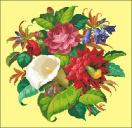 _wsb_261x227_Christmas+Catus$2C+Lilly+and+Roses (261x254, 73Kb)