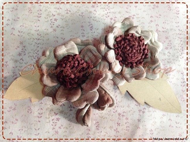 Текстильная брошь с цветами из ткани. Мастер-класс (17) (650x488, 220Kb)