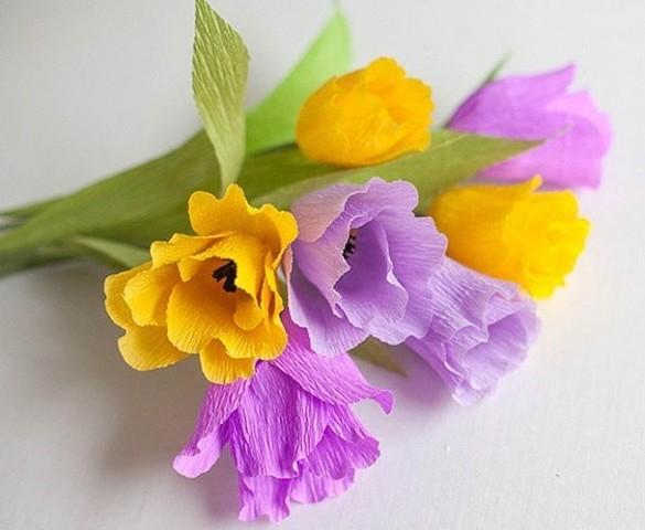 цветы из бумаги(585x480, 191Kb)