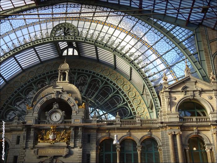 Антверпенский центральный ж/д вокзал