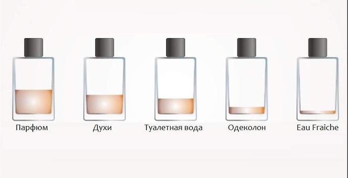 Чем отличается одеколон, духи, туалетная вода и парфюм