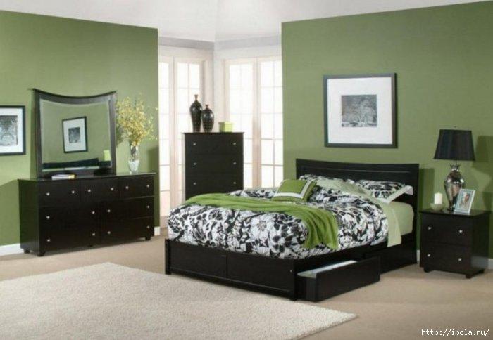"""alt=""""Все оттенки зелёного в твоей спальне""""/2835299_ZELYoNAYa_SPALNYa (700x484, 124Kb)"""