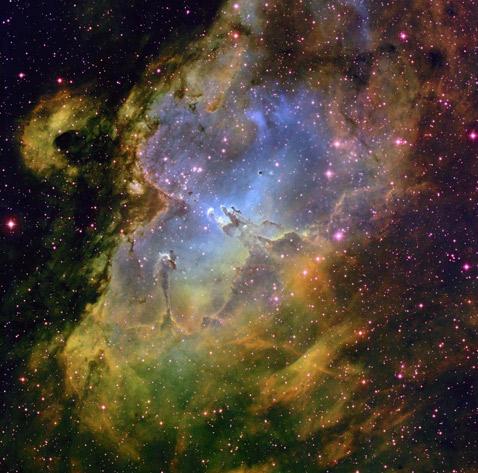 Туманность Орла - Столпы творения (478x473, 288Kb)