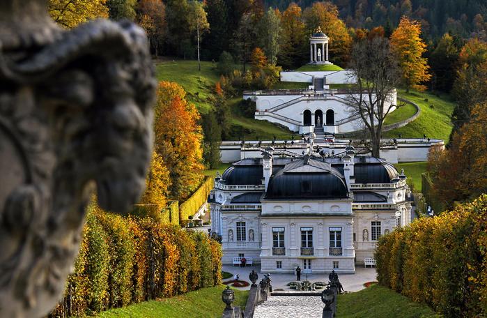 Замок Линдерхоф германия 1 (700x456, 537Kb)