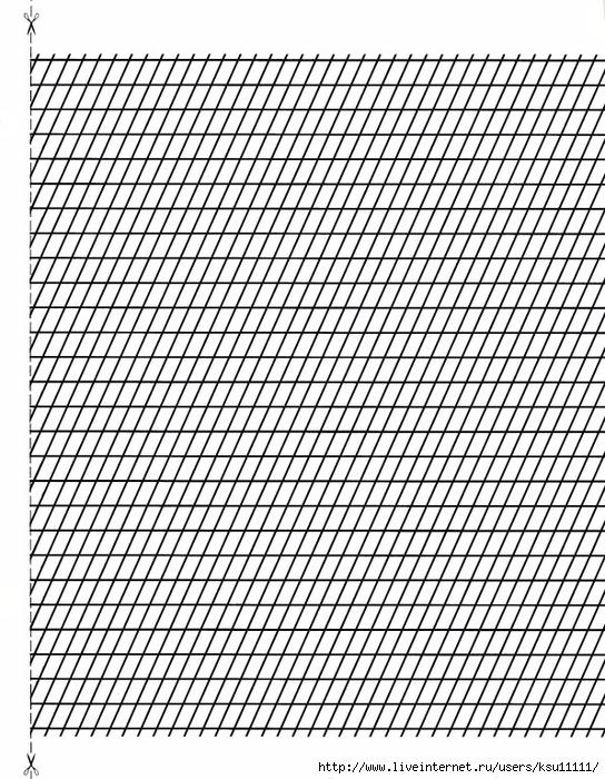 косая линейка для прописей шаблон