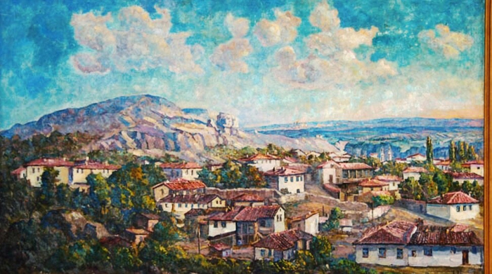 нагаевская Бахчисарай 1956 год (700x391, 353Kb)