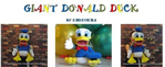 ������ Giant Donald Duck_1 (546x223, 116Kb)