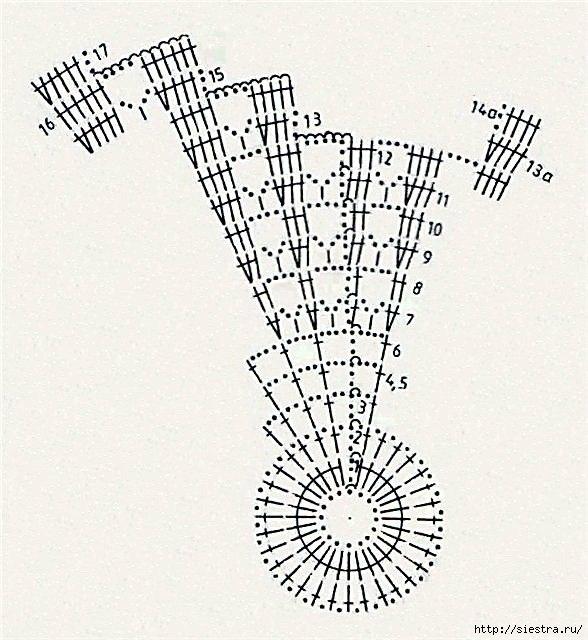 Вяжем салфетки Радуга6 (588x640, 215Kb)
