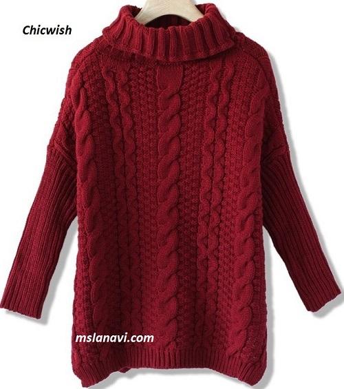 длинный-свитер-спицами-2 (500x565, 236Kb)