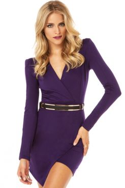 Привлекательное асимметричное платье с рукавами/5946850_15192_1 (246x369, 12Kb)