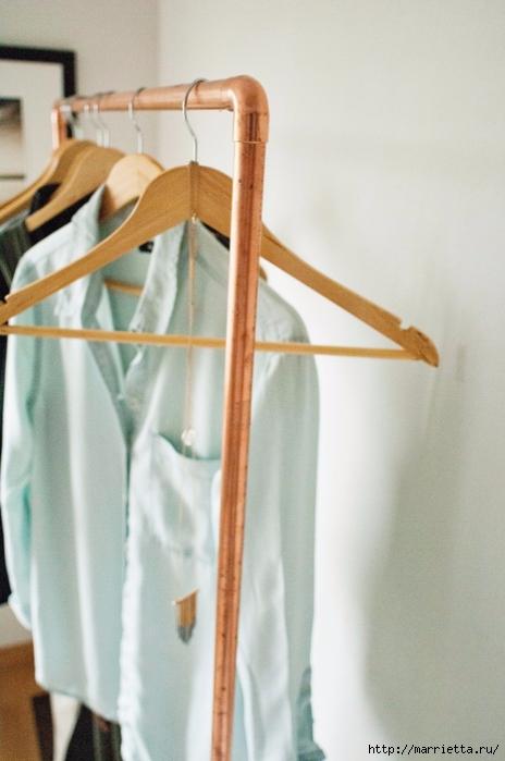 Креативная вешалка для одежды своими руками (6) (464x700, 183Kb)