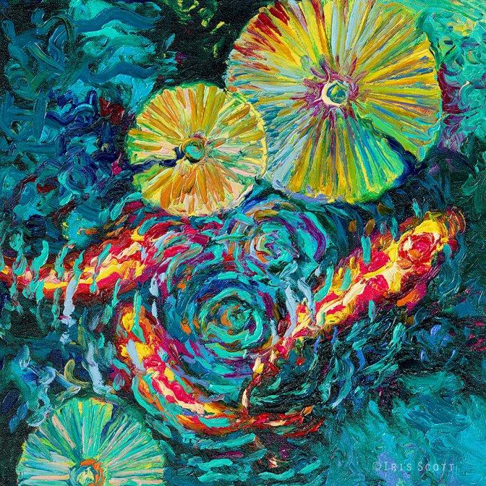 картины пальцами Айрис Скотт 5 (700x700, 978Kb)