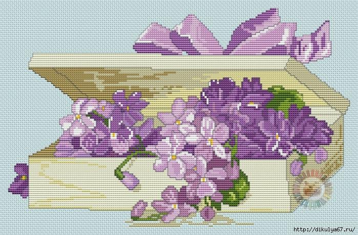 подарок с цветами1 (699x459, 408Kb)