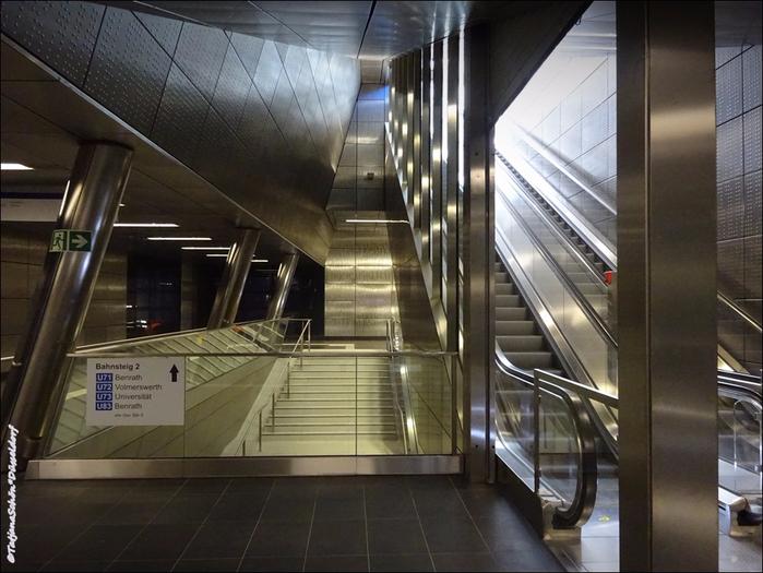 Новая станция подземного транспорта, Дюссельдорф - 2016