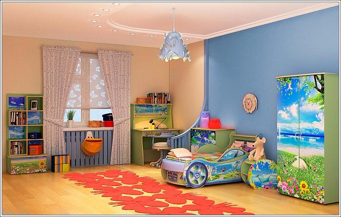 Детская комната (700x445, 413Kb)