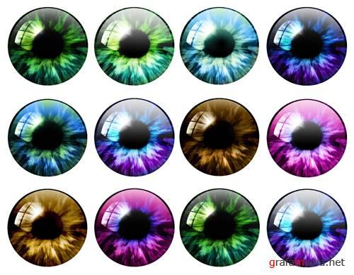 Как сделать живые глаза в фотошопе