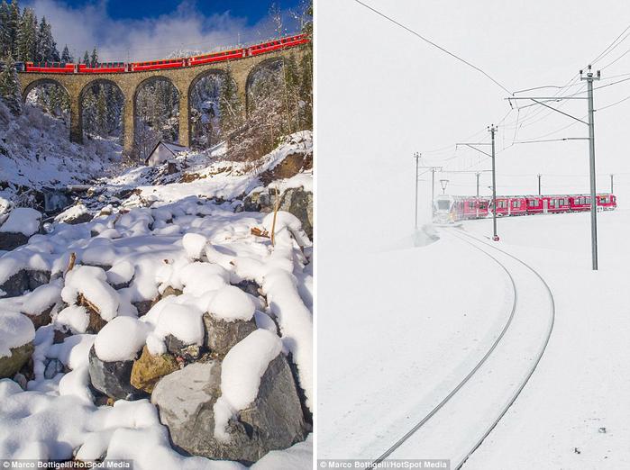 железная дорога в швейцарских альпах 6 (700x522, 357Kb)