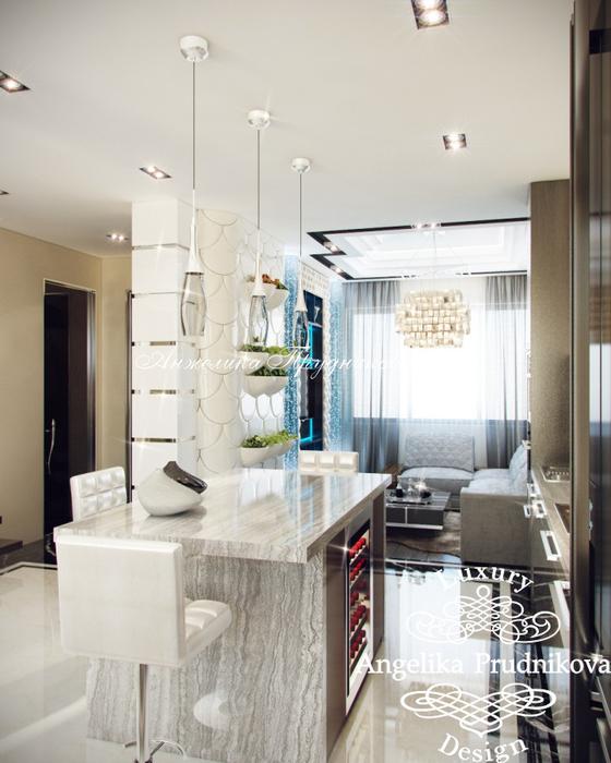 08_3D визуализация кухни-столовой на первом этаже (560x700, 342Kb)