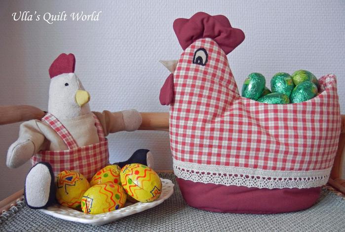 Пасхальные идеи от Ulla's Quilt World (8) (700x469, 377Kb)