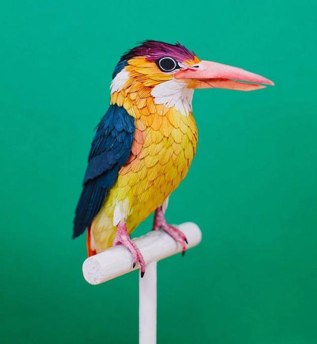 бумажные птицы Дианы Бельтран Эрерра 5 (644x700, 269Kb)