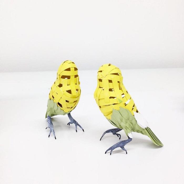 бумажные птицы Дианы Бельтран Эрерра 9 (700x700, 166Kb)