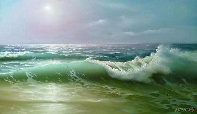 Рассвет на море (640x372, 168Kb)