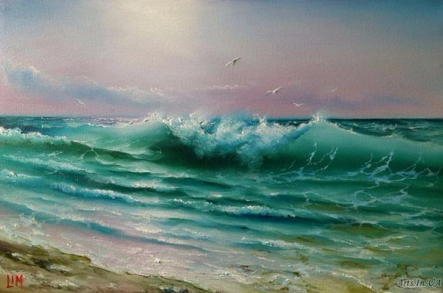 Утро на море (637x421, 247Kb)