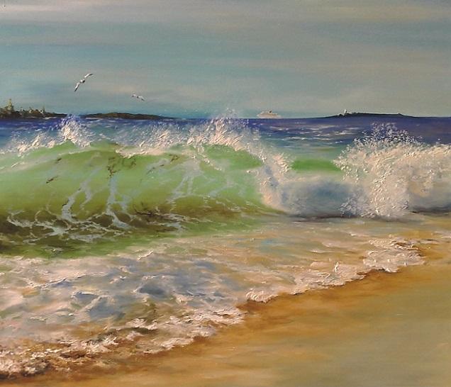 Летний пляж (636x546, 308Kb)