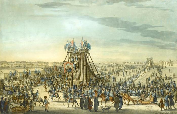 1. 1788 - Ледяная горка в Санкт-Петербурге (700x453, 396Kb)